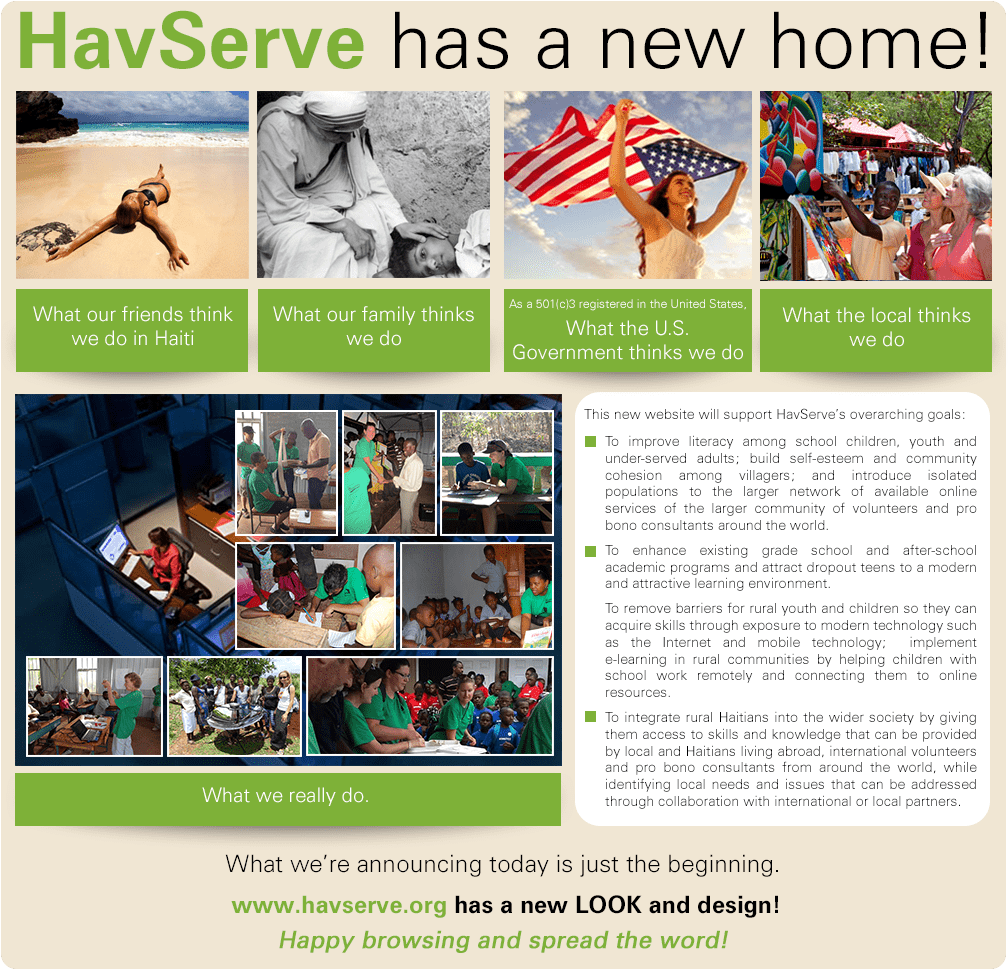 HavServe New Website Announcement