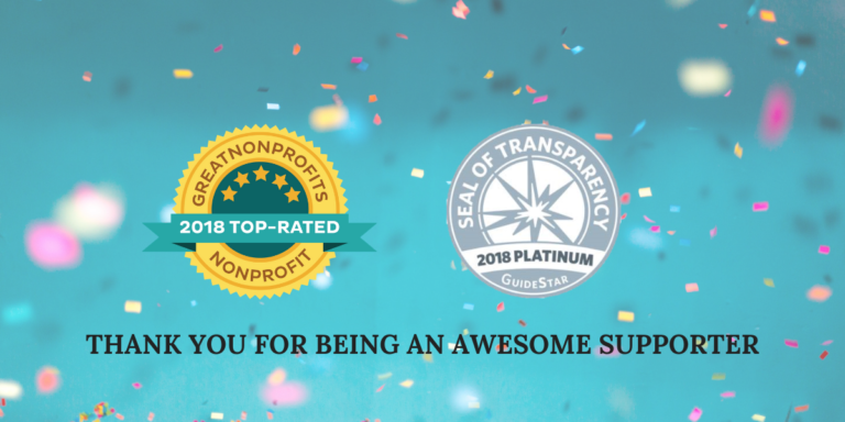 Top-Rated Non-Profit Award