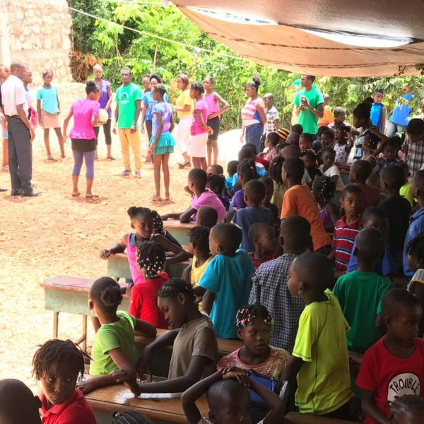Children at the summer camp 2019 in Haiti